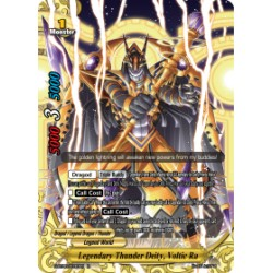 BFE S-BT06/0030EN Foil/R Legendary Thunder Deity, Voltic Ra
