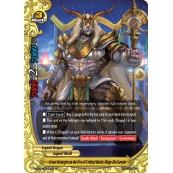 BFE S-BT06/0044EN Foil/U Great Strategist on the Eve of Critical Battle, Balga Da Garuda