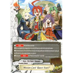 "BFE S-BT06 S-PR/094EN PR Mission Card ""Quest start !"""