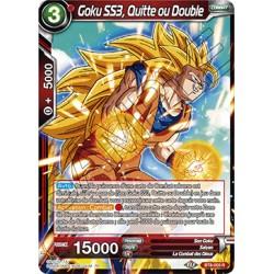 DBS BT8-003 R Goku SS3, Quitte ou Double