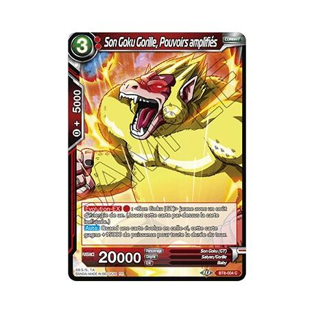 DBS BT8-004 C Son Goku Gorille, Pouvoirs amplifiés