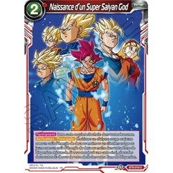 DBS BT8-019 C Naissance d'un Super Saiyan God
