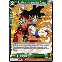 DBS BT8-046 C Son Goku, se préparant au Combat