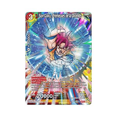 DBS BT8-109 SR Son Goku, Prémisses de la Divinité