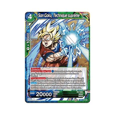 DBS BT8-117 UC Son Goku, Technique suprême