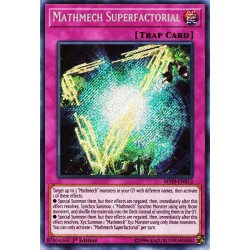 YGO MYFI-EN012 Superfactorielle Mathmech/Mathmech Superfactorial