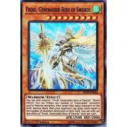 YGO MYFI-EN028 Frodi, Boss Genèraideur des Épées/Frodi, Generaider Boss of Swords