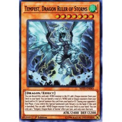 YGO MYFI-EN045 Tempest, Maître Dragon des Tempêtes/Tempest, Dragon Ruler of Storms