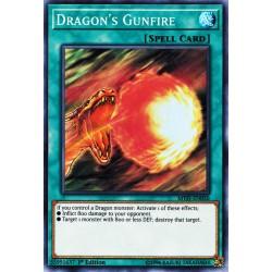 YGO MYFI-EN050 Dragon's Gunfire