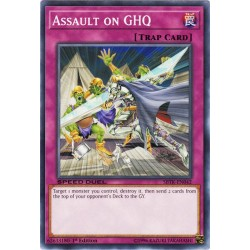 YGO SBTK-EN042 Assault on GHQ