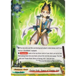 BFE S-BT07/0027EN FOIL/R Fusion Style, Stance of Staring -Ichi-