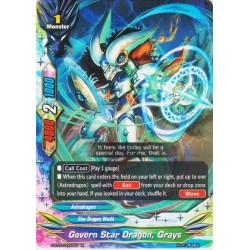 BFE S-BT07/0033EN FOIL/R Govern Star Dragon, Grays