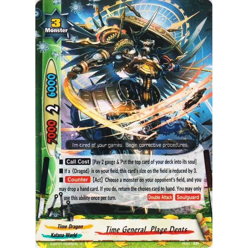 FUTURE CARD BUDDYFIGHT TIME GENERAL PLAGE DENTS S-BT07//0055EN C FOIL