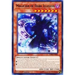 YGO LED6-EN006 Magicien de l'Illusion Noire /Magician of Dark Illusion