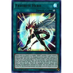 YGO LED6-EN015 Héros Favori /Favorite Hero