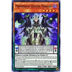 YGO LED6-EN045 Magicien du Ciel Potartiste /Performapal Celestial Magician