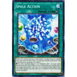 YGO LED6-EN048 Action Souriante /Smile Action