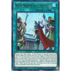 YGO IGAS-EN055 Saga des Guerriers Anciens - Les Trois Visites / Ancient Warriors Saga - Three Visits