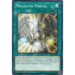 YGO IGAS-EN057 Megalith Portal