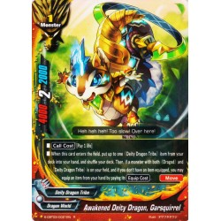 BFE S-CBT03/0021EN Foil/R Awakened Deity Dragon, Garsquirrel