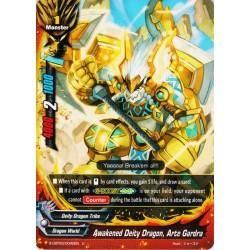 BFE S-CBT03/0040EN Foil/U Awakened Deity Dragon, Arte Gardra