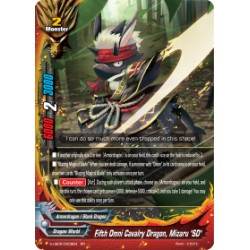 "BFE S-UB05/0009EN RR Fifth Omni Cavalry Dragon, Mizaru ""SD"""