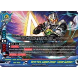 "BFE S-UB05/0061EN U Mirror Hero, Captain Answer ""Answer Question!!"""