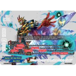 "BFE S-UB05/BR02EN BR Mirror Hero, J ""Gemclone Origin Cloak"""