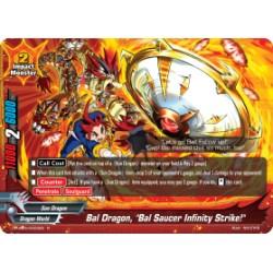 "BFE S-UB05/0023EN Foil/R Bal Dragon, ""Bal Saucer Infinity Strike!"""