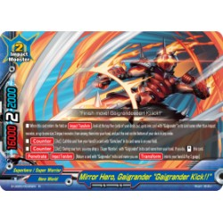 "BFE S-UB05/0035EN Foil/R Mirror Hero, Gaigrander ""Gaigrander Kick!!"""