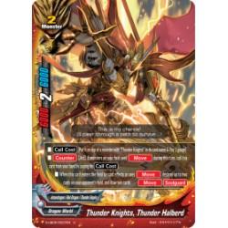 BFE S-UB05/0037EN Foil/U Thunder Knights, Thunder Halberd
