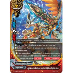 "BFE S-UB05/0038EN Foil/U Right Hand of the War Dragon Lord, Saint Holy Sword ""Lightning Fencer"""