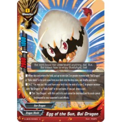 BFE S-UB05/0040EN Foil/U Egg of the Sun, Bal Dragon