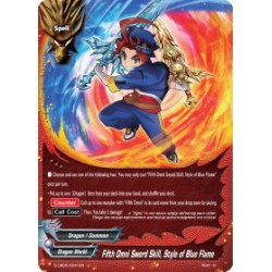 BFE S-UB05/0041EN Foil/U Fifth Omni Sword Skill, Style of Blue Flame
