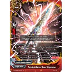 BFE S-UB05/0043EN Foil/U Turbulent Warlord Sword, Dragzamber