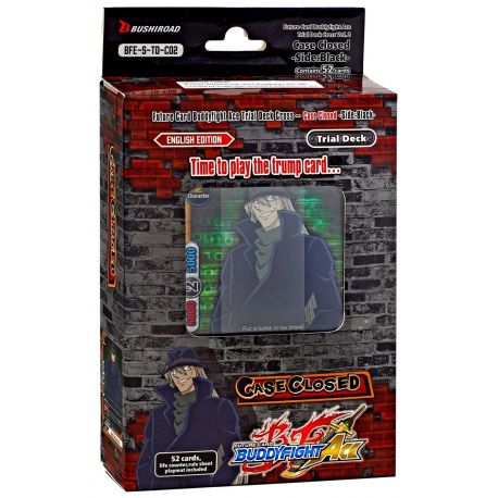 Trial Deck Cross Vol.2 Detective Conan Side:Black Future Card Buddyfight Ace