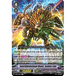 CFV V-EB14/024EN R Interdimensional Beast, Isolate Lion