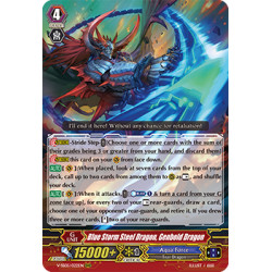 CFV V-SS05/022EN RRR Blue Storm Steel Dragon, Genbold Dragon