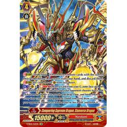 CFV V-SS05/S12EN SR Conquering Supreme Dragon, Stunverse Dragon
