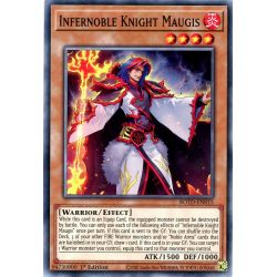 YGO ROTD-EN015 Maugis, Chevalier Noble Inferno  / Infernoble Knight Maugis