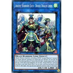 YGO ROTD-EN048 Serment des Guerriers Anciens - Seigneurs Double Dragon  / Ancient Warriors Oath - Double Dragon Lords