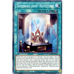 YGO ROTD-EN054 Armes Nobles Inferno - Hauteclaire  / Infernoble Arms - Hauteclere