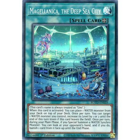 YGO ROTD-EN059 Magellanica, the Deep Sea City