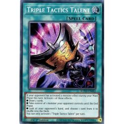 YGO ROTD-EN062 Talent des Triples Tacitques  / Triple Tactics Talent