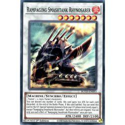 YGO ROTD-EN093 Rampaging Smashtank Rhynosaber