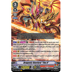 "CFV V-BT08/002EN VR Dragonic Overlord ""The X"""