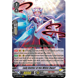 CFV V-BT08/016EN RRR Lady Battler of the White Dwarf