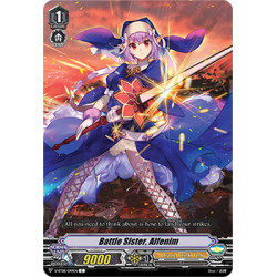 CFV V-BT08/049EN C Battle Sister, Alfenim