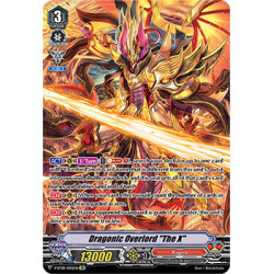 "CFV V-BT08/SP02EN SP Dragonic Overlord ""The X"""