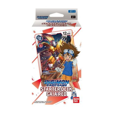 Digimon Card Game Starter Deck 1 Gaia Red